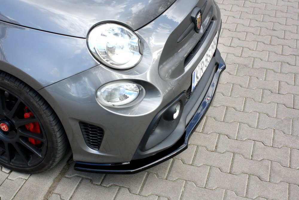 SPLITTER PRZEDNI FIAT 500 ABARTH MK1 FACELIFT - GRUBYGARAGE - Sklep Tuningowy